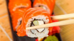places to eat sushi in Hanoi