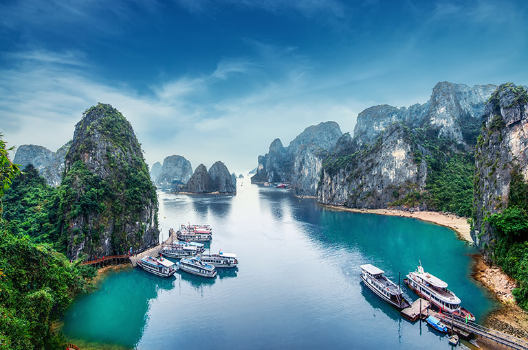 Ha Long Bay Sky View - Source: Navigers