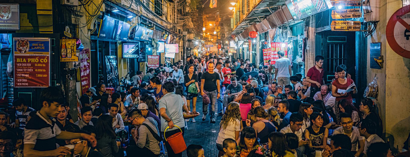 Nightlife in Hanoi's Old Quarter - Source: Zambaka