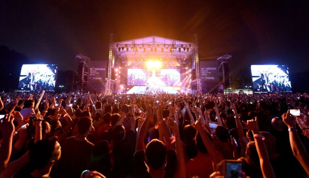 Monsoon Music Festival in Hanoi, 2017