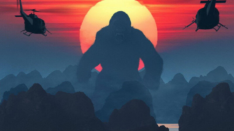 Kong: Skull Island - filmed on Cat Ba Island and Ha Long Bay.